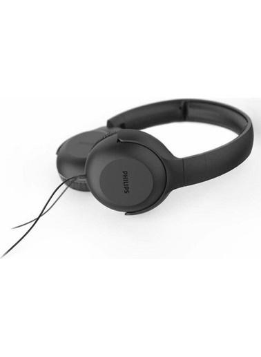 Philips Tauh201Bk/00 Mıkrofonlu Kafa Bantlı Kulaklık Siyah Siyah